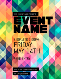 Free Event Flyer Templates | Event Flyer Templates Free Downloads Postermywall