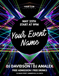 Exceptional Event Flyer Ideas Club Flyer Background