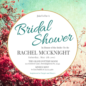 70 customizable design templates for bridal shower event postermywall