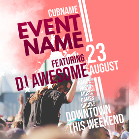 Event Flyer Template