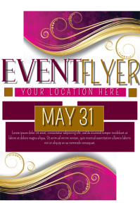 templates for event flyers