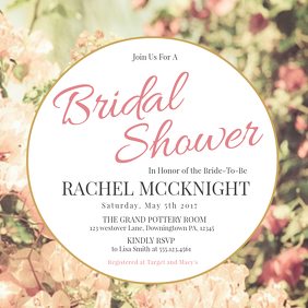 230 customizable design templates for bridal shower postermywall