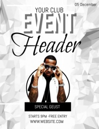 event flyer template social media