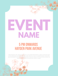 Event Flyer Templaye