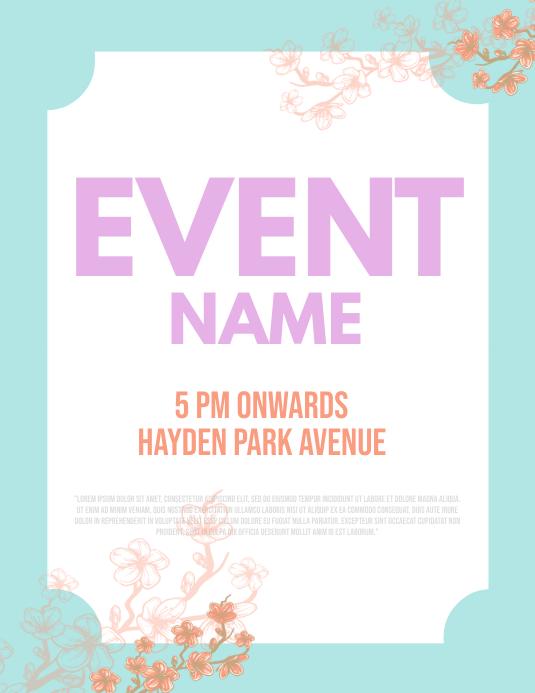 Event Flyer Templaye