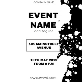 EVENT FLYER VIDEO TEMPLATE