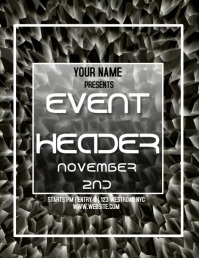 EVENT FLYER VIDEO TEMPLATE FREE