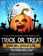 Event flyers, Halloween ,Kids Halloween template