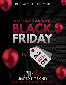 Event flyers,Black Friday flyers,