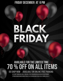 Event flyers,Black Friday sale