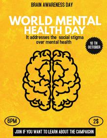 Event flyers,Brain health flyers
