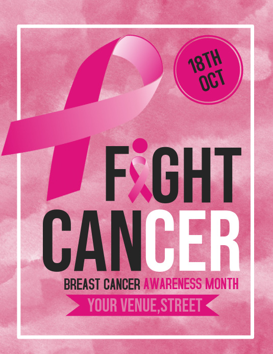 Event flyers,Breast Cancer flyers,