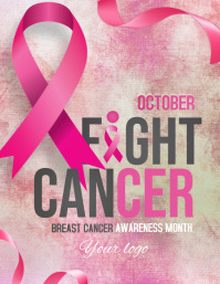 event flyers,cancer flyer,Breast cancer flyer
