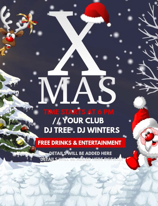 Event flyers,Christmas flyers,Boxing sale