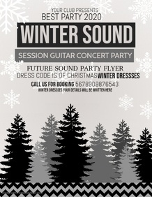 Event flyers,Christmas flyers,winter flyers