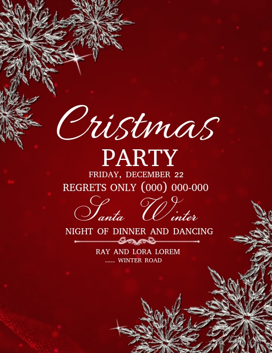 event flyers,christmas flyers