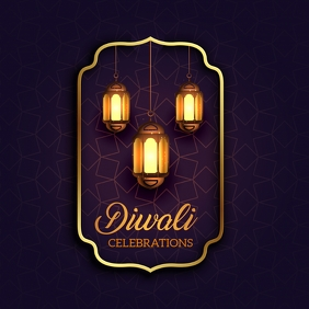 Diwali templates,Indian festival Instagram Post