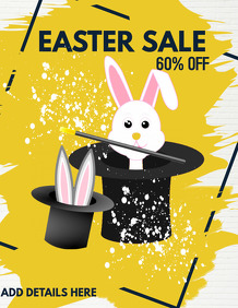 event flyers,easter flyers,Easter sale flyers