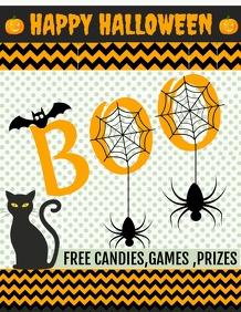 Event flyers,Halloween flyers,boo bash flyers