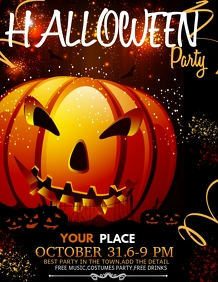 Event flyers,Halloween flyers,party flyers