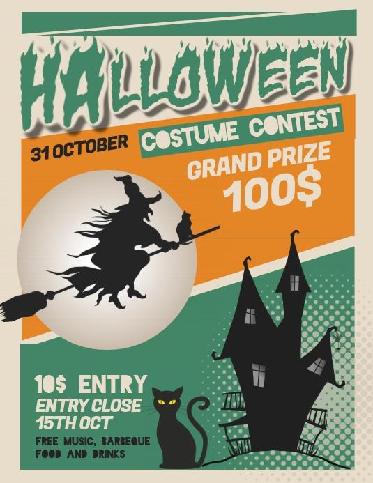 event flyers,Halloween flyers