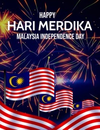 Event flyers,Happy Malaysia day flyers