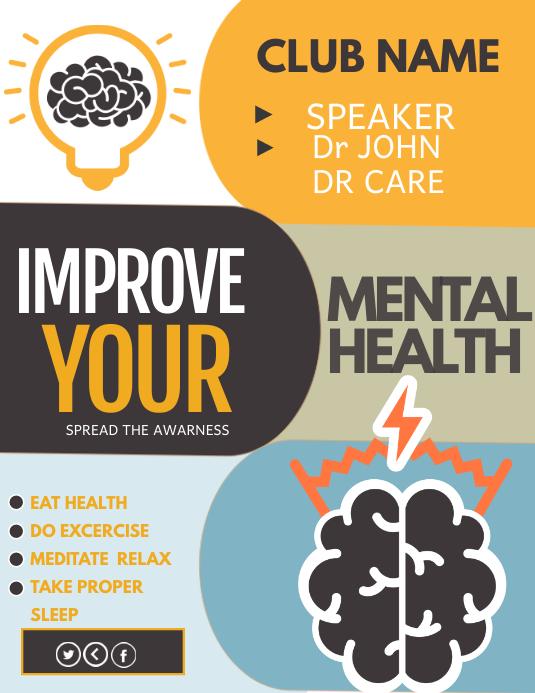 Poster Kesehatan Mental