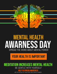 Event flyers,Mental health awareness flyers