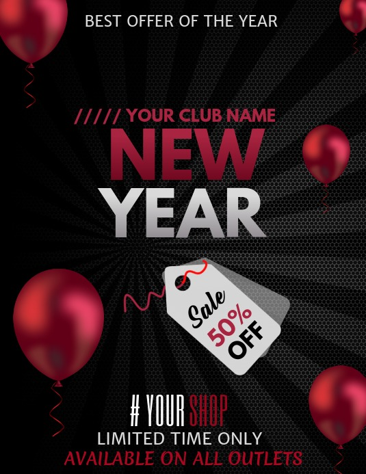 Event flyers,New year flyers,retail