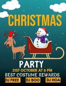 Event flyers,party flyer,Christmas flyers