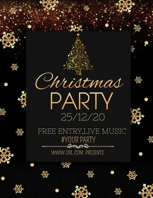 Event flyers,party flyers,Christmas flyers