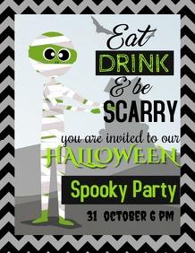 Event flyers,party flyers,Halloween flyers