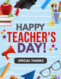 Event flyers,Teacher's day flyer