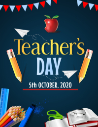 Event flyers,Teacher's day flyers
