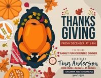 Event flyers,Thanks giving flyers