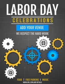 Event flyers ,Labor day