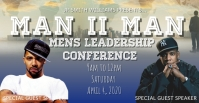 Event man to man Conference workshop template