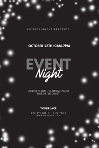 Event Night Flyer Design Template