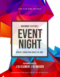 Event Night Flyer
