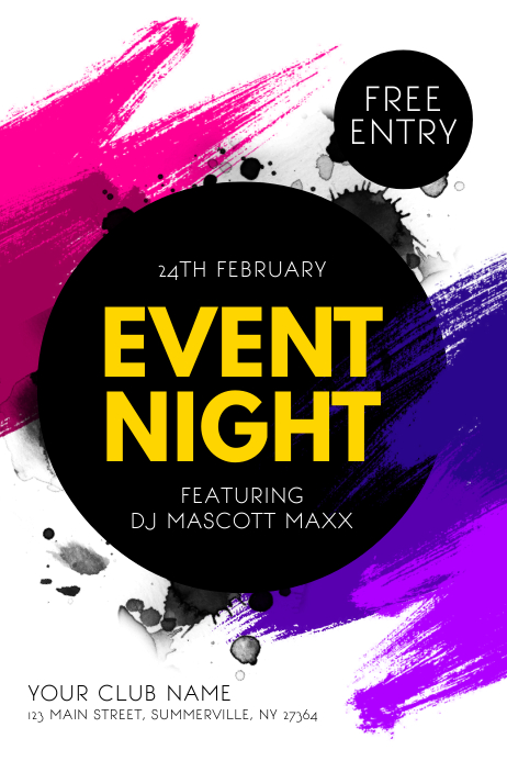 Event Night Poster