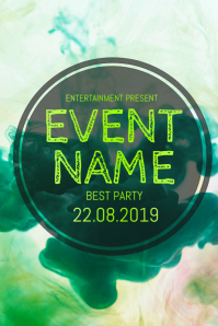 Event party flyer template