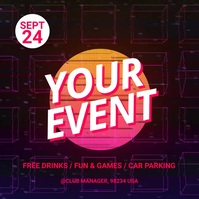 Event/Party Instagram Post template