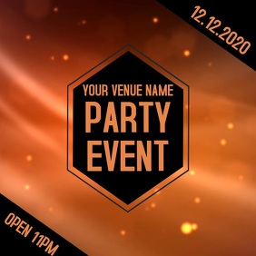 Event Party Video Template