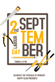 Event poster, labor day templates