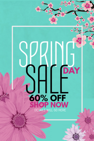 event poster ,retail templates,Spring day templates