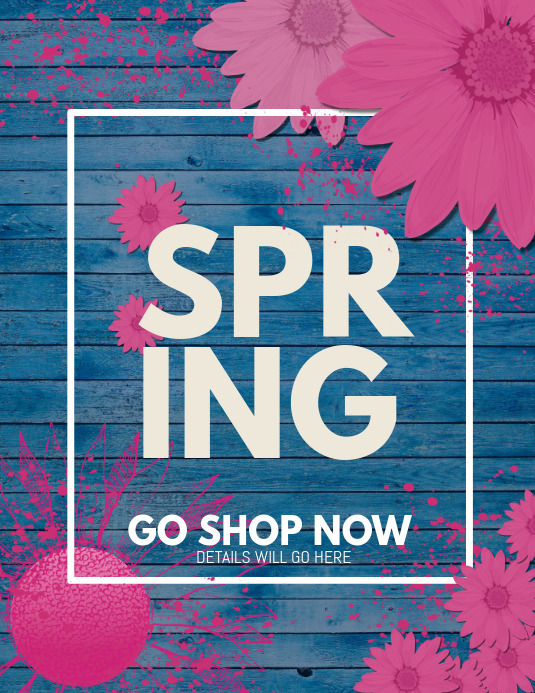 event poster ,retail templates,Spring templates