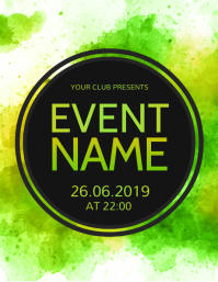 Event poster template, Event Flyer