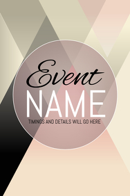 Event poster template,Event flyers