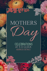 Event poster template,Mothers day poster templates