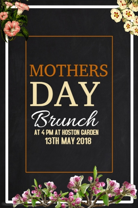 Event-Poster-Vorlage, Mütter Tag Poster Vorlagen | PosterMyWall